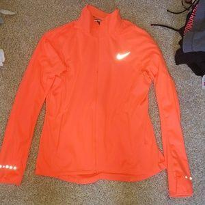 Nike Dri-FIT running jacket.
